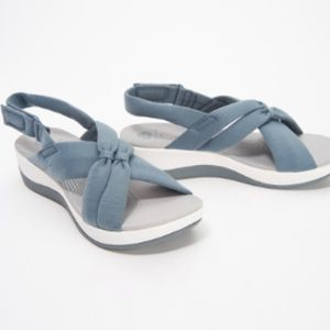 CLOUDSTEPPERS by Clarks Jersey Sport Sandals